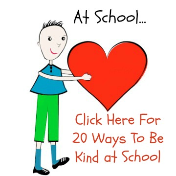20 Ways to be Kind at School | KindnessStartsWithMe.com